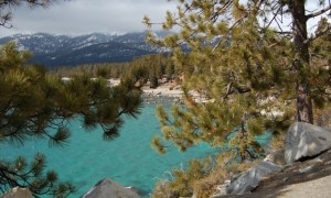 Lake Tahoe reveals many views.