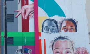 ArtPrize: See the mammoth mural taking shape