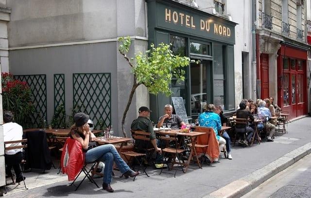 Paris canal saint martin hotel du nord and parc des for Design hotel 54 nord