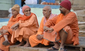 Endless imagery in Varanasi, India.