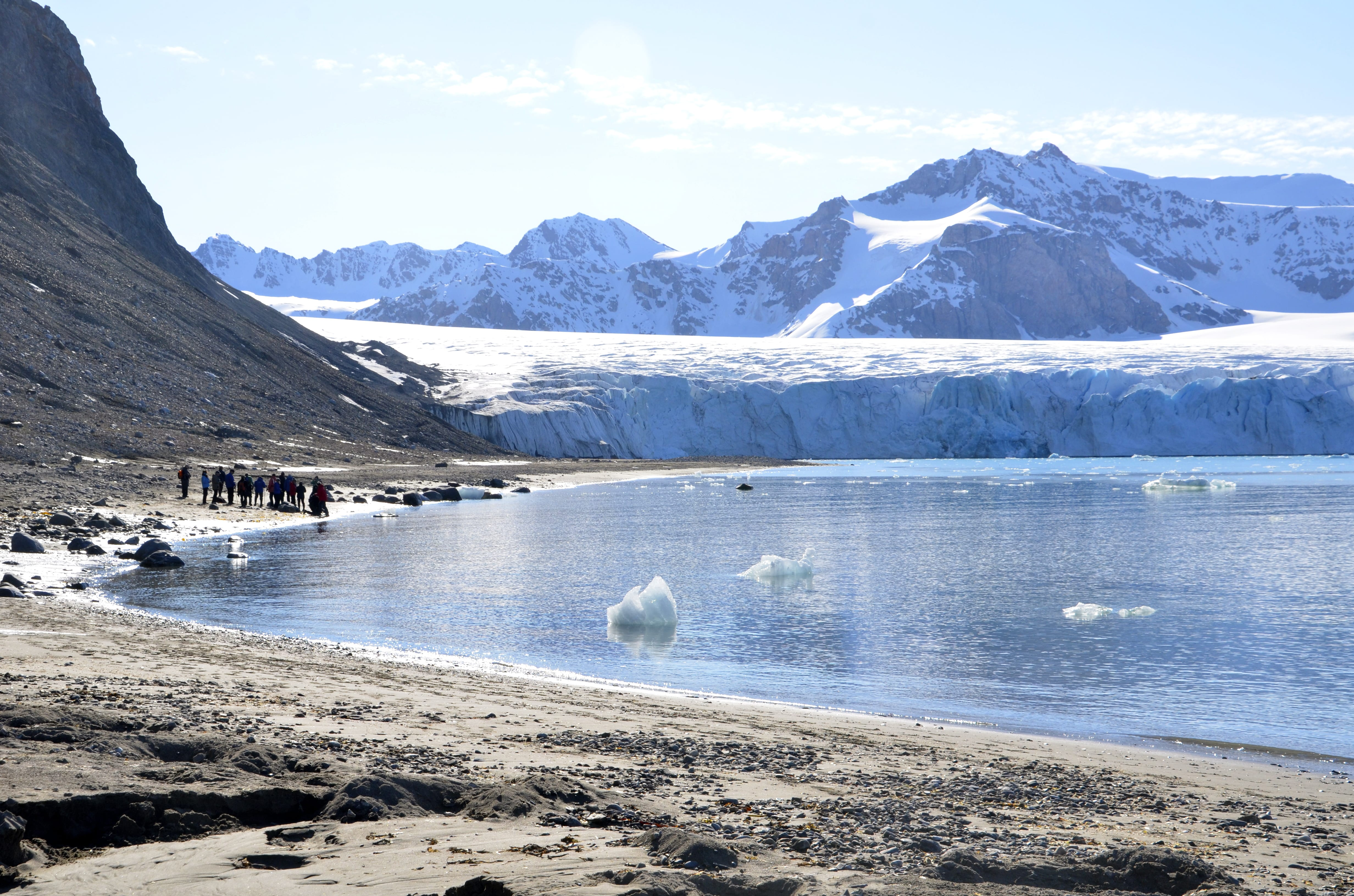 The last day of our arctic circle expedition turned out to be one of