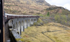 Riding the Royal Scotsman in Western Highlands