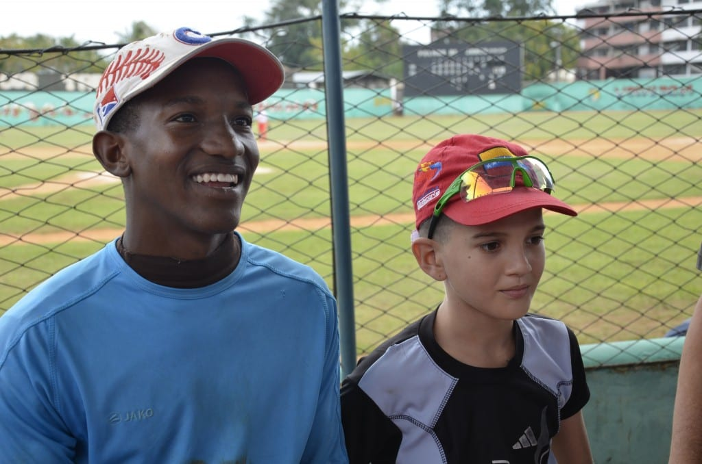 Young Baseball players Cuba