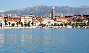 Enjoying history and boats in Split