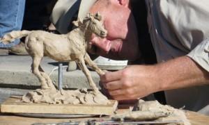 Art Round-up in Cody, Wyoming draws creative crowd
