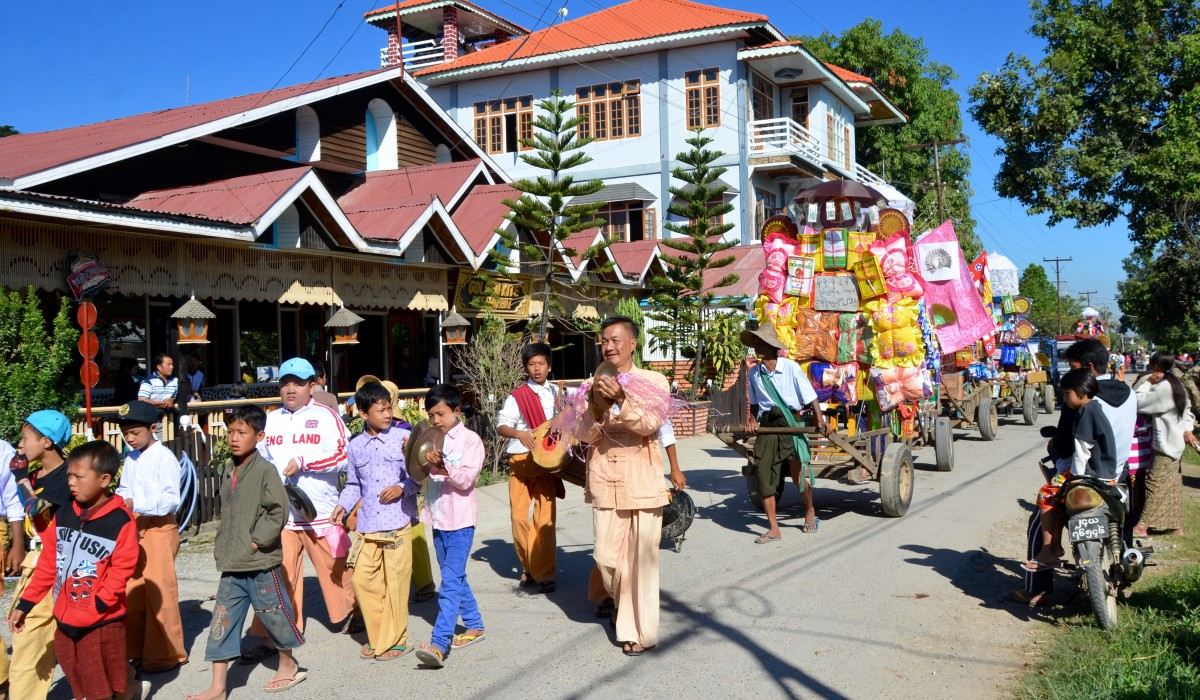 Hip Hip Hooray! It's a Parade, Myanmar style!