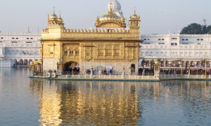 Visiting the Golden Temple in Amritsar, India