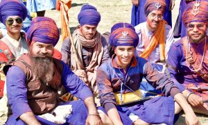 Nihangs–Warrior Monks of the Sikh religion