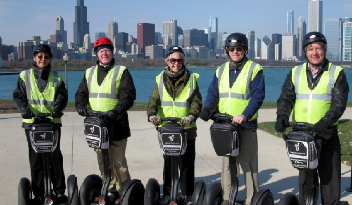 Taking a Segway Tour