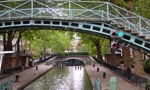 Canal Saint Martin in Paris a delightful surprise