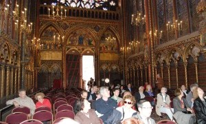 Sainte Chapelle is stunning location for a concert