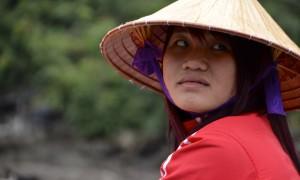 Cruising Halong Bay in North Vietnam