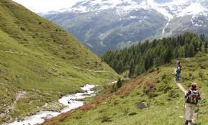 Exploring the St. Moritz area
