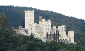Heads Up! History Buffs. Here's a visit to the Rhine Gorge Castles