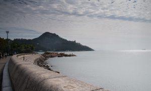 Enjoying Stanley, a beach town on Hong Kong Island