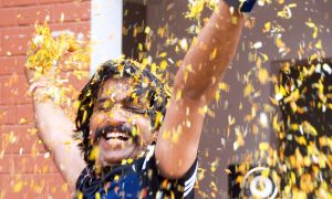 Celebrating Holi in Vrindavan