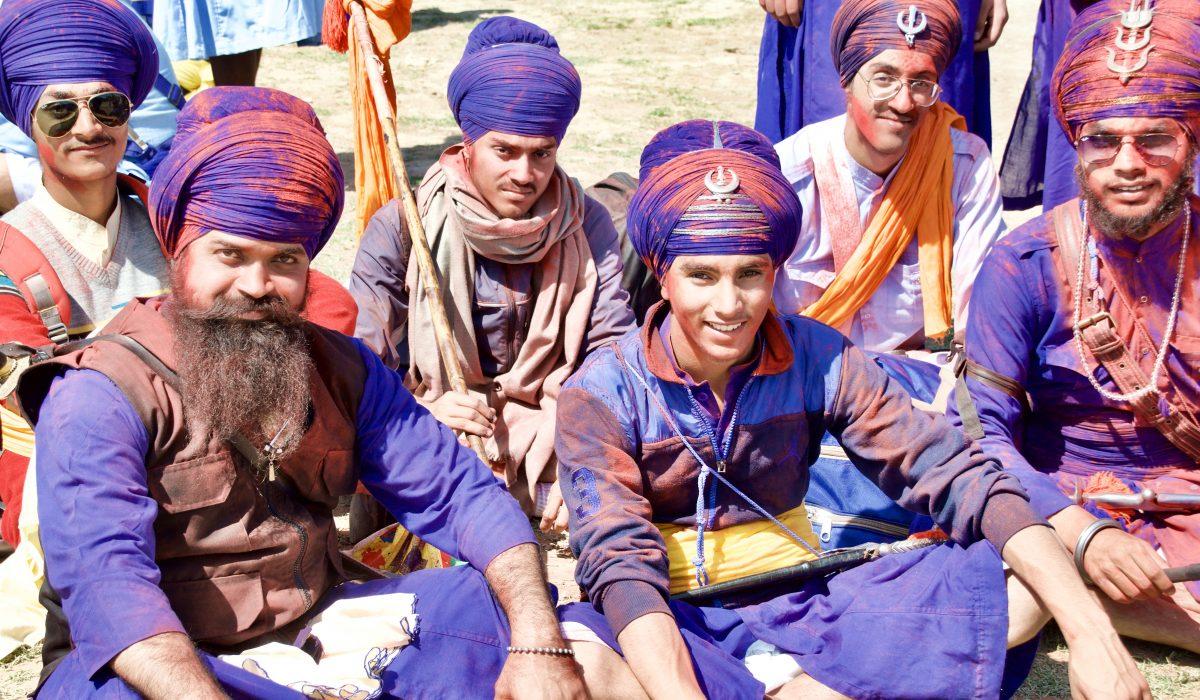 Nihangs–Warrior Monks of the Sikh religion